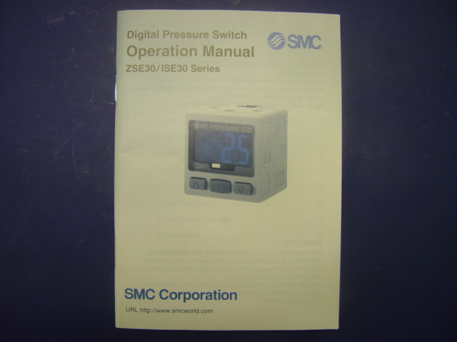 smc pressure switch ise40a manual