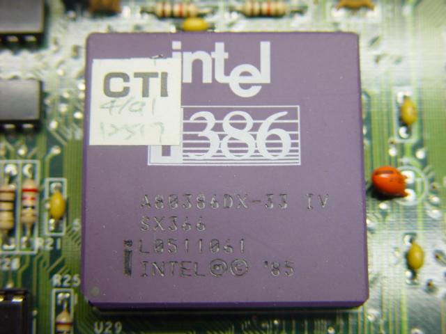 AMI BIOS Motherboard & Intel i386 503 4L I VINTAGE